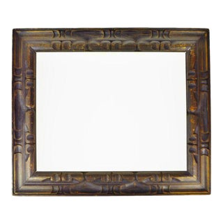 Vintage Carved Wood Picture Frame