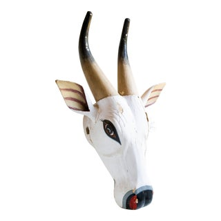 Ceremonial Indian Cow Mask