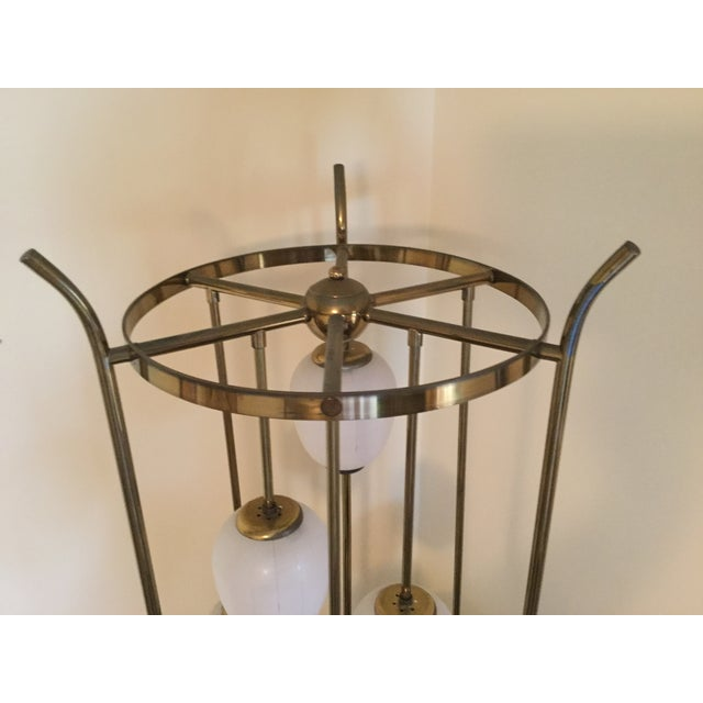 Mid-Century Modern Six Light Lamp - Image 7 of 9