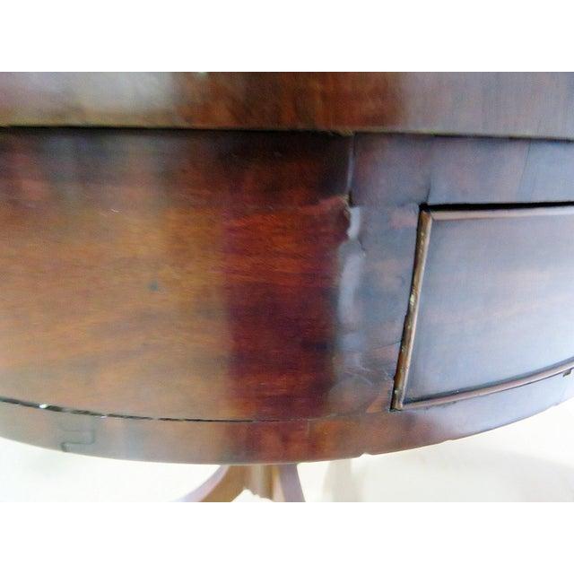 19thC English Revolving Drum Table For Sale In Philadelphia - Image 6 of 8