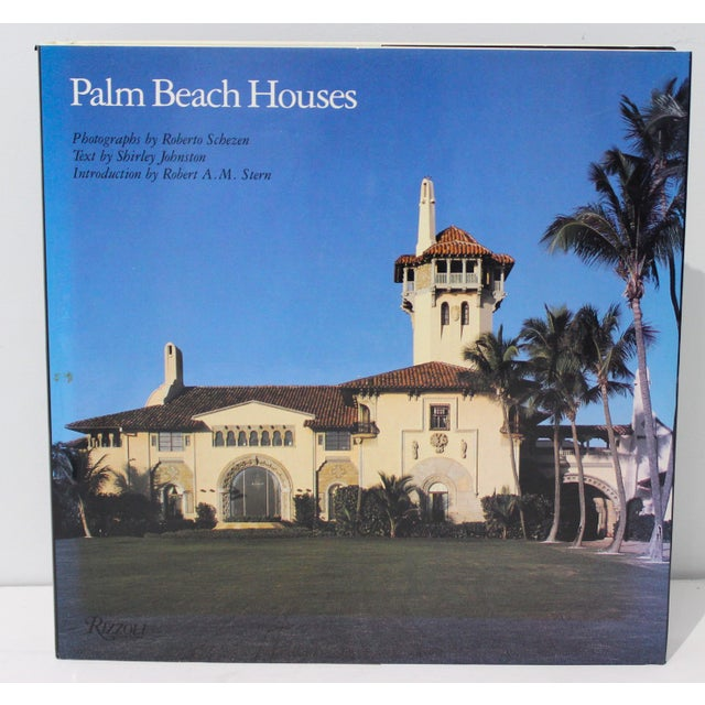 """1st Ed 1991 Rizzoli """"Palm Beach Houses"""" Coffee Table Book by Shirley Johnston For Sale - Image 13 of 13"""