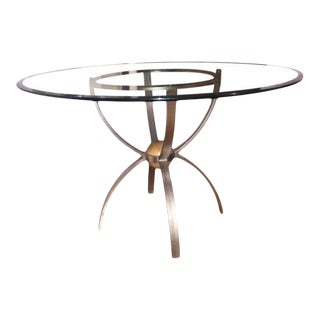 Vintage Postmodern Ethan Allen Radius Collection Dining Table For Sale