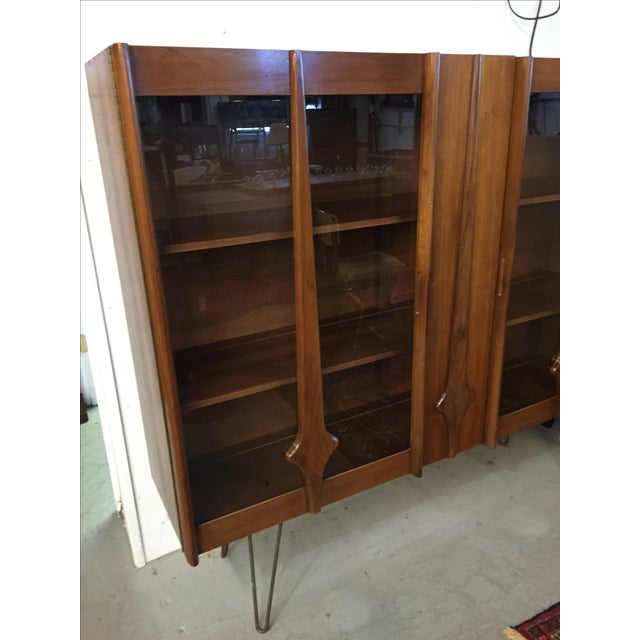Mid Century Modern Cabinet on Hairpin Legs - Image 3 of 10