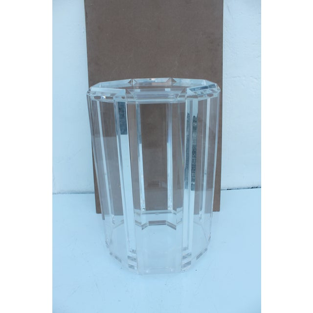 Vintage Lucite Side Table - Image 10 of 10
