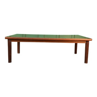 Danish Modern Solid Teak Coffee Table For Sale