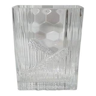 Vintage Art Deco Flower Vase Glass Vase For Sale