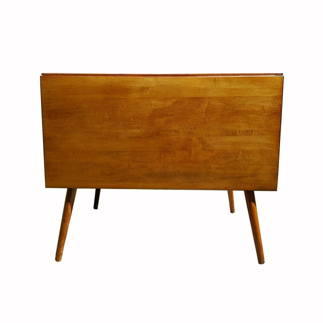 1950s Mid Century Modern Paul McCobb Planner Group Drop-Leaf Dining Table For Sale - Image 10 of 11