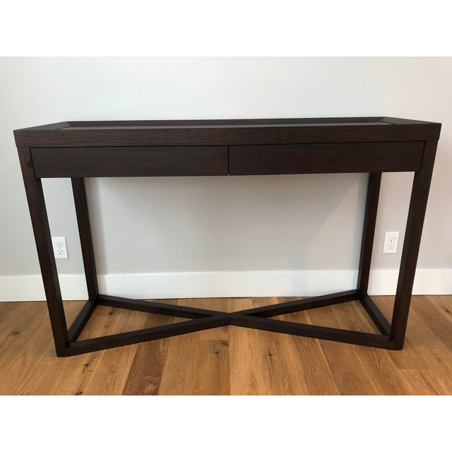 Modern Calvin Klein Console Table With Storage For Sale - Image 12 of 12