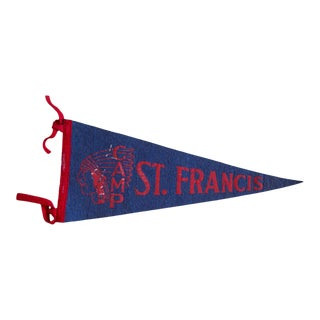 Camp St. Francis Felt Flag For Sale