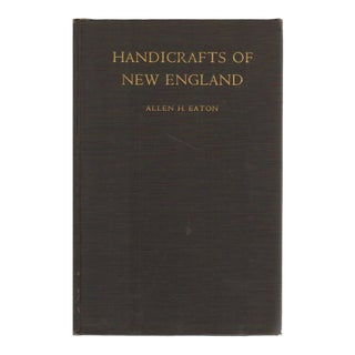 """1949 """"Handicrafts of New England"""" Collectible Book For Sale"""
