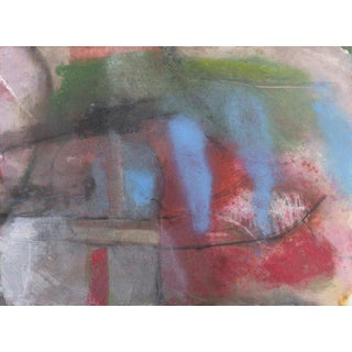 'Abstract in Azure and Rose' by Kevin Keaney, San Francisco Art Institute For Sale