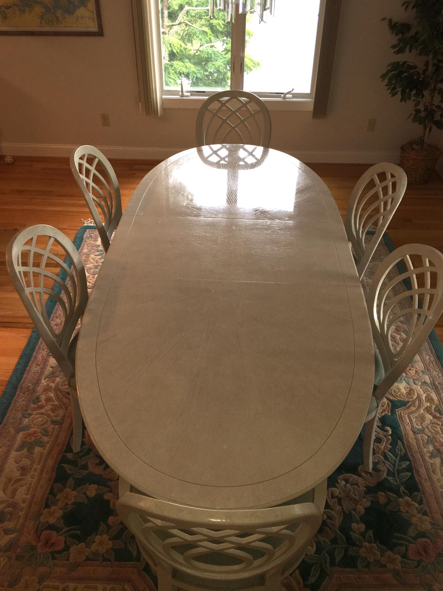1990s Henredon Dining Table U0026 Chairs For Sale   Image 5 ...