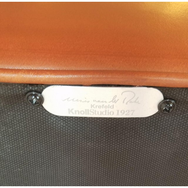 Ludwig Mies Van Der Rhoe Krefled Club Chairs - a Pair For Sale - Image 12 of 13