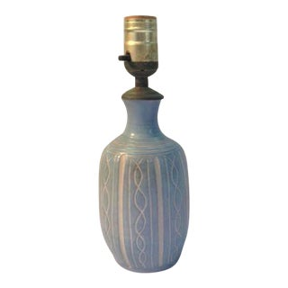 Studio Art Pottery Table Lamp
