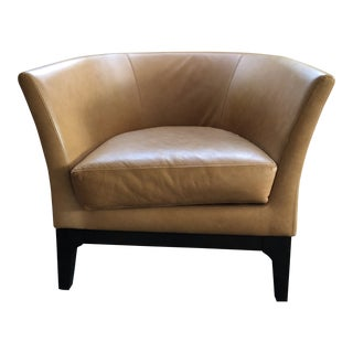 West Elm Tulip Leather Chair