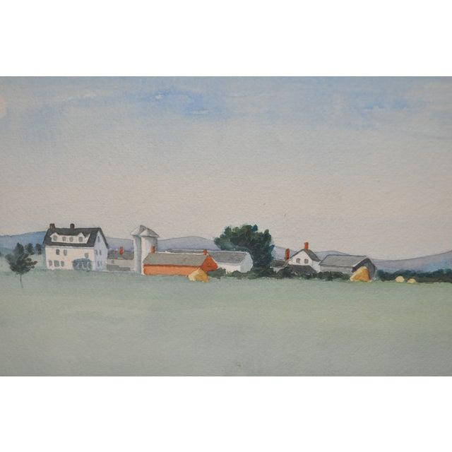 Impressionist Midwest Farm Landscape C.1939 - Image 5 of 7