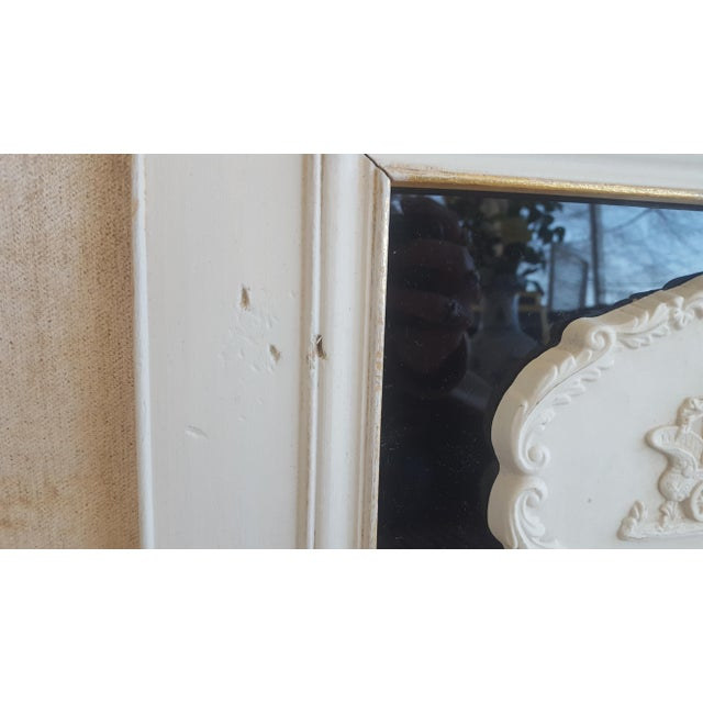 Vintage Neoclassical Framed Intaglios - a Pair For Sale - Image 9 of 13