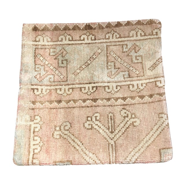 Vintage Anatolian Rug Pillow - Image 1 of 4