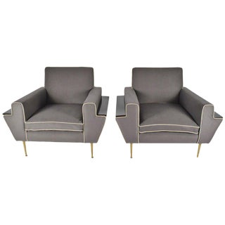 Italian Lounge Chairs - a Pair For Sale