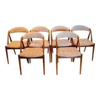 Set of Six Kai Kristiansen Model 31 Chairs For Sale