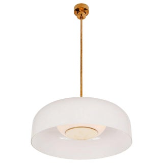 Large 1960s Sergio Mazza 'Pandora' Glass Suspension Lamp for Artemide For Sale