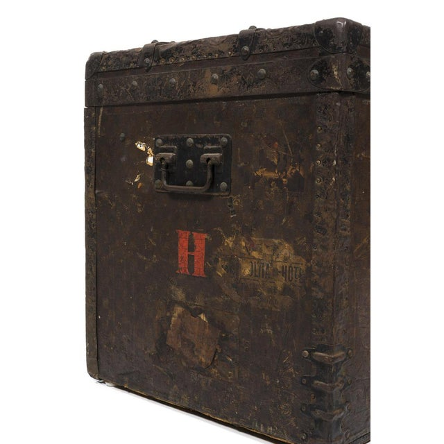 Louis Vuitton 1890 Damier Steamer Trunk - Image 4 of 7