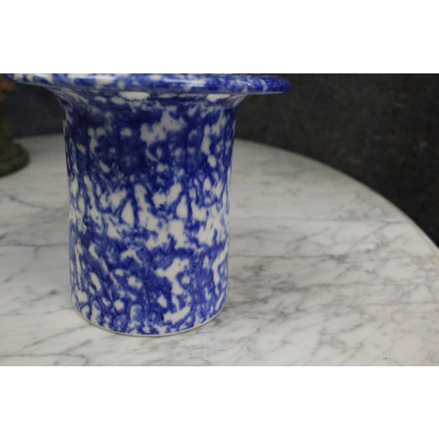 Country Spatterware Vase For Sale - Image 3 of 7