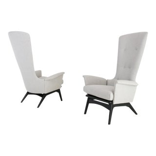 Pair of Armchairs by Adrian Pearsall For Sale