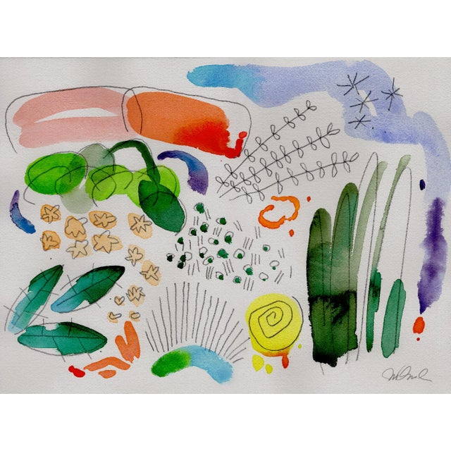 Not Yet Made - Made To Order Botanical English Garden Series Watercolor Giclee Prints - Set of 12 For Sale - Image 5 of 6