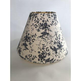 Blue and White Floral Fabric Lampshade Preview