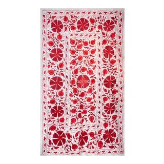 Pomegranate Suzani II Textile Art For Sale