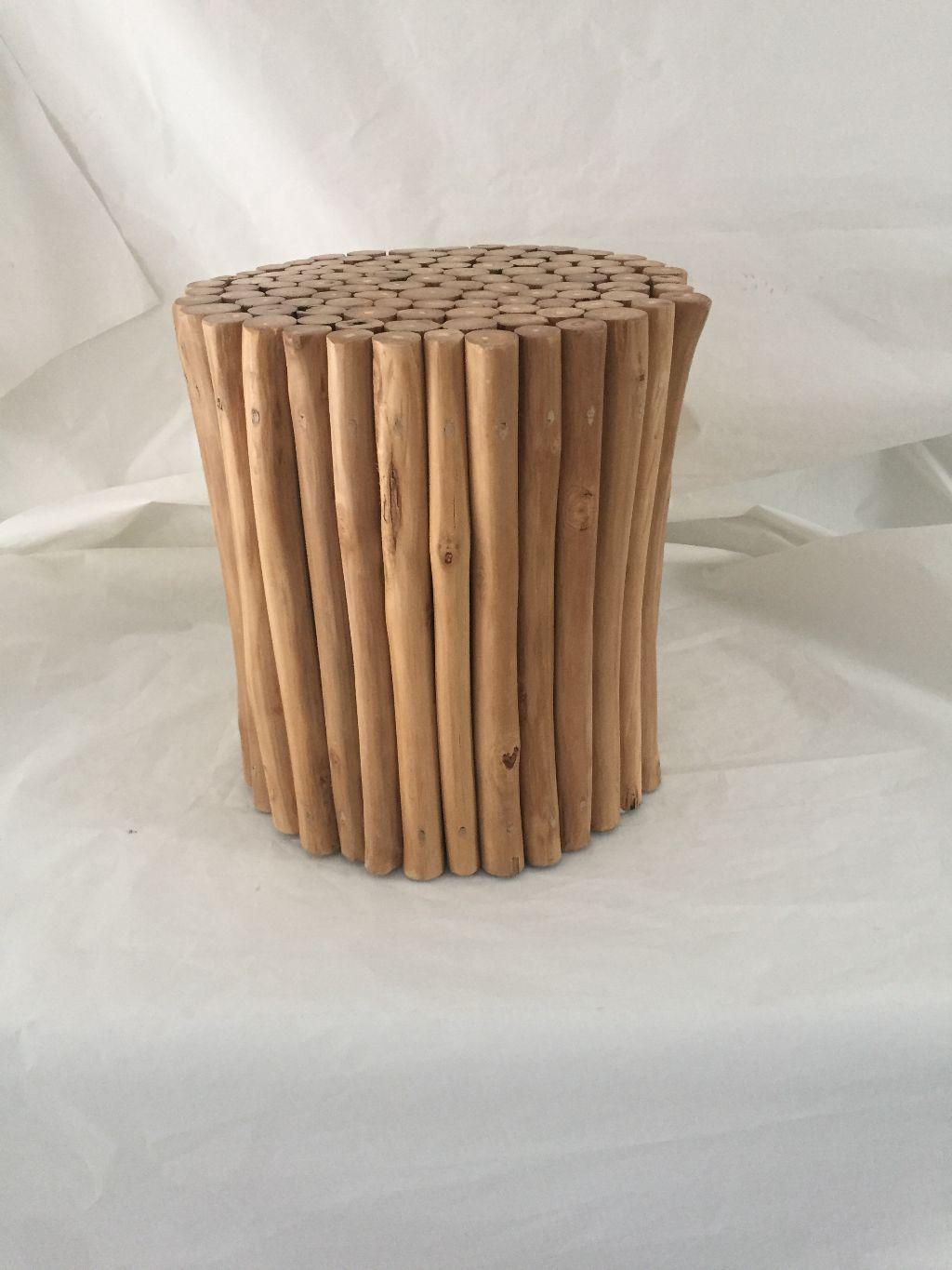 Modern Handmade Branch Wood Side Table For Sale In New York   Image 6 Of 6