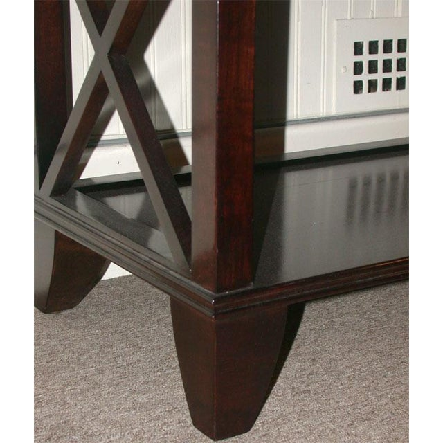 Regency Style Console With Shelving - Image 8 of 8