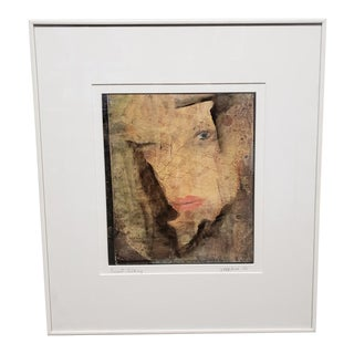 "1980s Adelle Badeaux ""Sweet Talking"" Mixed Media Art For Sale"