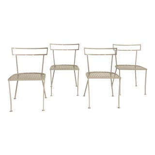 Klismo Patio Dining Chairs - Set of 4 For Sale