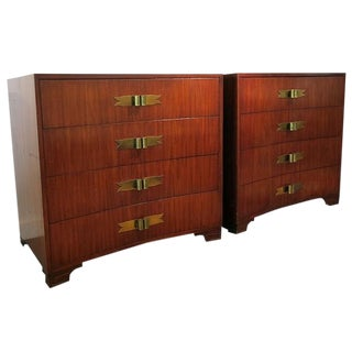 1940s Vintage Grosfeld House Chests- A Pair For Sale