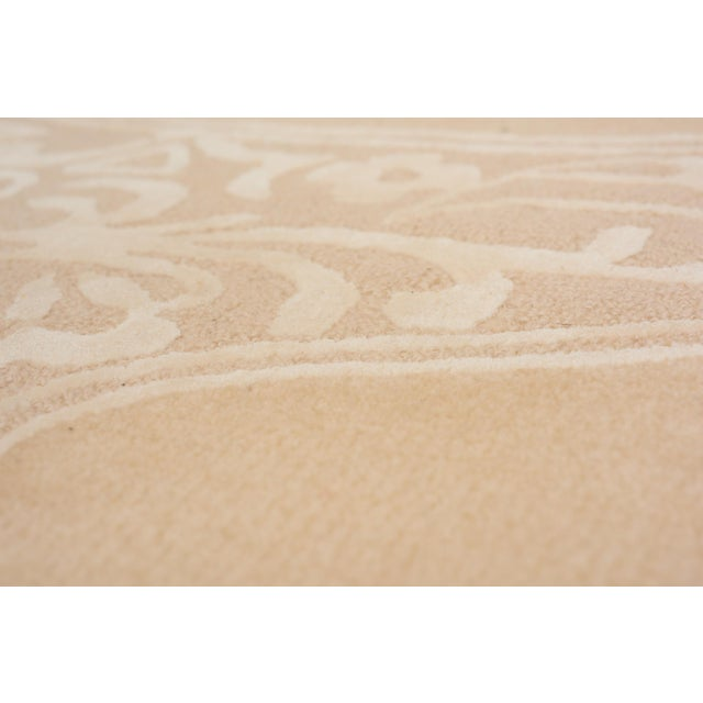 Early 21st Century Schumacher Chantilly Lace Area Rug in Hand-Tufted Wool & Spun Silk, Patterson Flynn Martin For Sale - Image 5 of 6