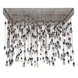 Alexandre Ferucci 285 Bulb Industrial Chandelier For Sale