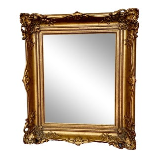 Vintage Mid-Century Ornate Gilt Frame For Sale