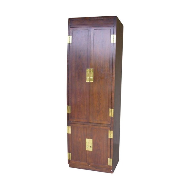 Ethan Allen Walnut Tall Cabinet - Image 1 of 4
