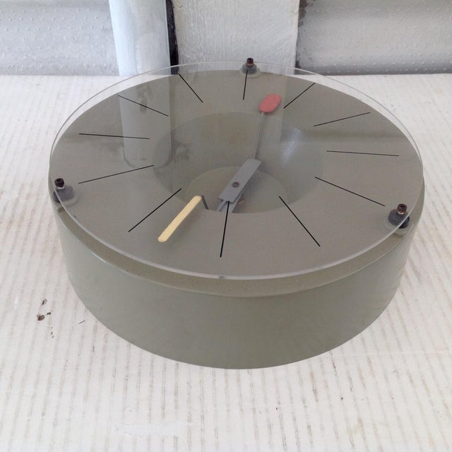 Modern Design Tokei Wall Clock For Sale - Image 4 of 9
