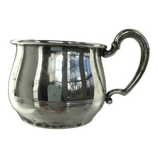 Vintage Sterling Silver Baby Cup For Sale