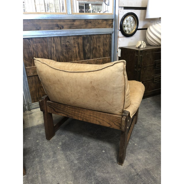 1970's Swedish Lounge Chairs For Sale - Image 6 of 7