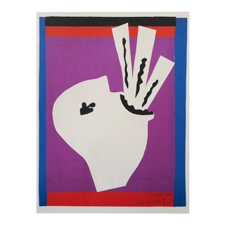 """Henri Matisse """"The Sword Swallower"""" First German Edition Poster For Sale"""
