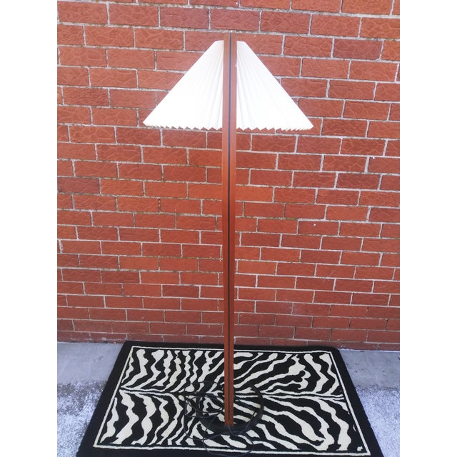 Mid 20th Century Vintage Danish Modern Bentwood Mads Caprani Floor Lamp For Sale - Image 5 of 13