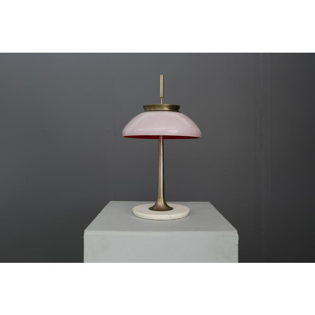 Mid-Century Modern Table Lamp Stilnovo Mod 8091 , Milan 1950. For Sale - Image 3 of 7