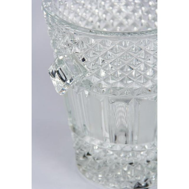 French Cut Crystal Champagne Bucket, 20th Century - Image 8 of 11