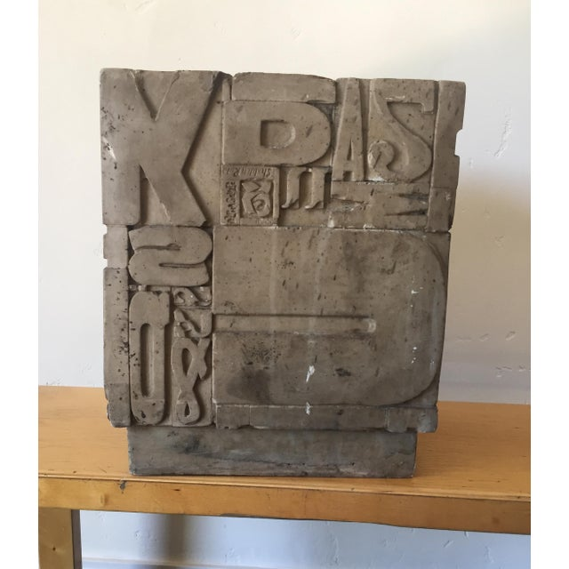 Sherman Rose Resin Cube Sculpture For Sale In Los Angeles - Image 6 of 9