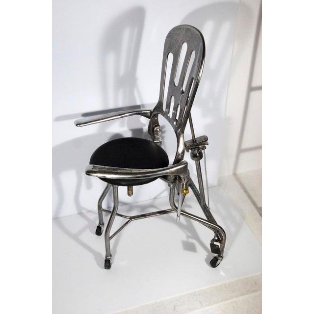 1930s Vintage Adjustable Dental Chair - Image 5 of 8