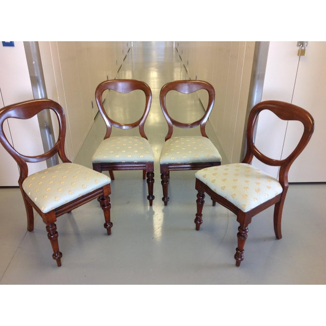 Victorian Balloon Back Chairs - Image 2 of 7